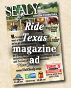Ride Texas Ad
